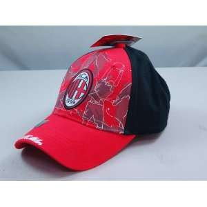 AC MILAN OFFICIAL TEAM LOGO CAP / HAT   ACM002 Sports
