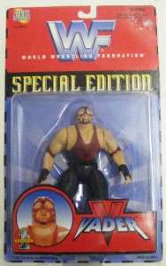 WWE WWF SPECIAL ED. VADER SERIES 1 ACTION FIGURE NIB