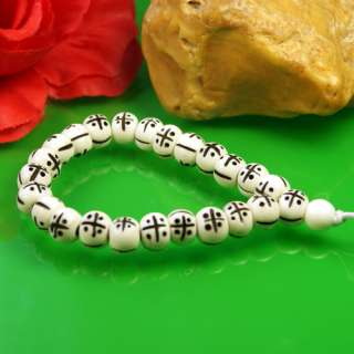 New Yak Bone Carved Loose Beads Tibetan Bracelet Bangle
