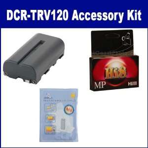 Sony DCR TRV120 Camcorder Accessory Kit includes HI8TAPE