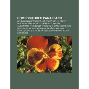 Compositores para piano Wolfgang Amadeus Mozart, Scott