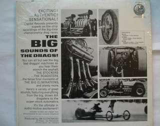 The BIG SOUNDS of the DRAGS DRAG RACING HOT ROD USA ORIG 1963 STEREO