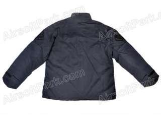 Tactical Combat Uniform Shirt + Pants Button Ver3 Black   L