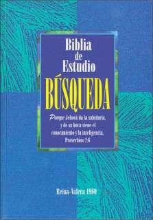 BARNES & NOBLE  Biblia de Estudio Busqueda: Reina Valera 1960, indice