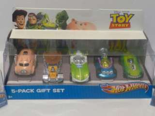 Disney Toy Story 3 Hot Wheels Cars Lot of 7 Rex Woody Buzz Stretch