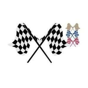 Checkered Flags vinyl graphic decal Automotive