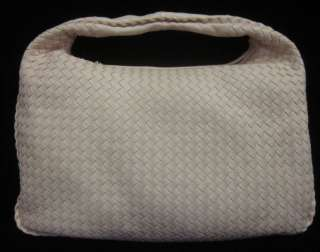 NEW BOTTEGA VENETA Pink Woven Extra Large Hobo Handbag