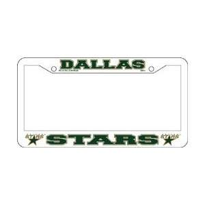 Dallas Stars Car Tag Frames