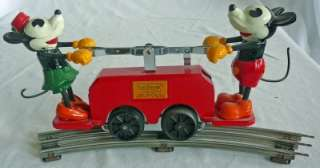 Pride Lines Mickey and Minnie Mouse Hand Car