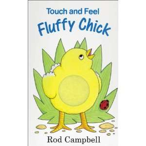 Touch and Feel Fluffy Chick (9780850918175) Rod Campbell Books