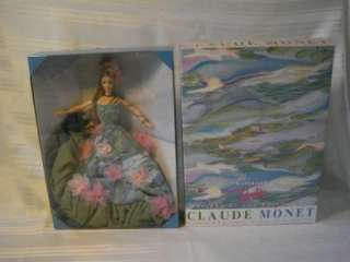 MONET WATER LILY BARBIE FIRST IN SERIES LIMITED EDITION L@@K