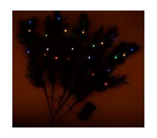 Lights Battery Operated Indoor/Outdoor 36 Pine Branches CLEAR