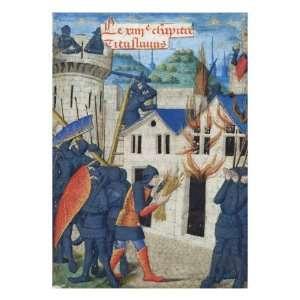 Gaius Marcus Corialanus Setting Afirebrand to Corioli, Li