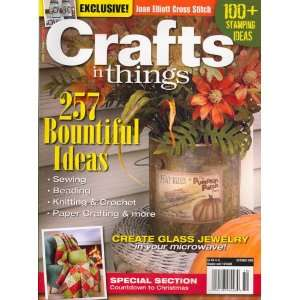 Things, October 2008 Issue Editors of CRAFTS N THINGS Magazine Books