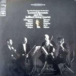 Leonard Bernstein and The Juilliard String Quartet   Schumann Piano