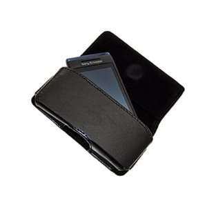Pouch Case with Belt Loop for Sony Ericsson AINO   Black Electronics