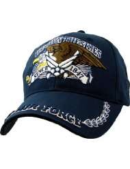 Air Force Hat   Clothing & Accessories