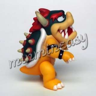 10cm Action Nintendo Wii Super Mario Bros Bowser Figure