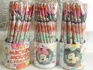 Wholesale Lots ~ Disney Mickey & Minnie Pencil (60pcs) W/Tin Holder