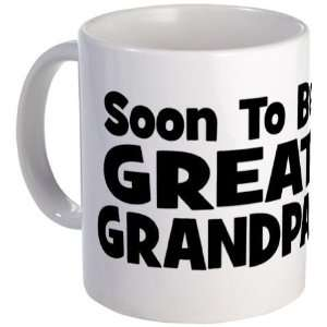 Soon To Be Great Grandpa Funny Mug by CafePress: Kitchen