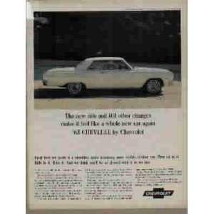 1965 Chevelle Malibu Super Sport by Chevrolet Ad, A3974
