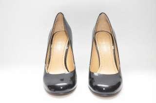 NINE WEST Ambitious Black Patent Leather Pump Heels Women Shoes 6 M