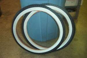 LOWRIDER BIKE TIRES & TUBE WHITE WALL 16 X 1.75 BICYCLE