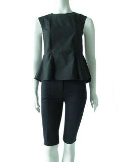 Marni       FW 09 waist defining peplum cotton shirt