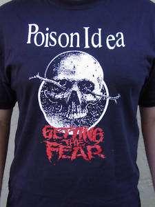 POISON IDEA shirt punk kbd septic death accused nofx