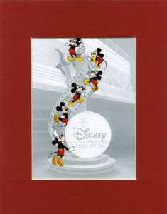 MICKEY MOUSE Mat Print~The Magic of Disney Animation