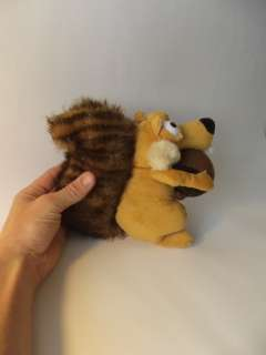 ICE AGE 3 STUFF PLUSH TOY SCRAT SQUIRREL DOLL 100% New