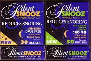 silent snooz snoring aid help stop snoring 30 reuses