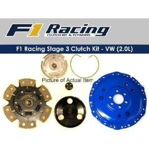 F1 Racing Stage 3 Clutch Kit 90 94 Vw Golf Gti 2.0 L