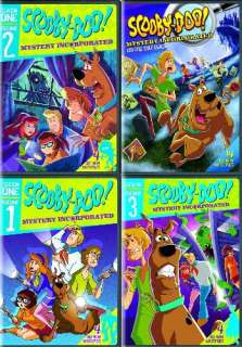 SCOOBY DOO MYSTERY INCORPORATED COMPLETE SEASON 1 New 5 DVD