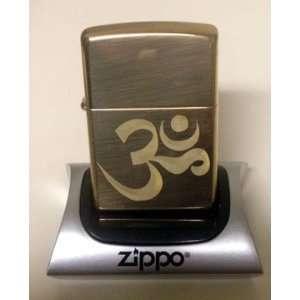 Zippo Custom Lighter   Aum Om Zen Hindu Religious Symbol High Polish
