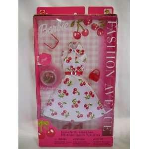 Barbie Fashion Avenue Cherry Dress (2002) Toys & Games