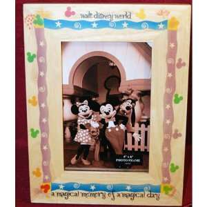 Walt Disney World Magical Memories 4x6 Frame Home