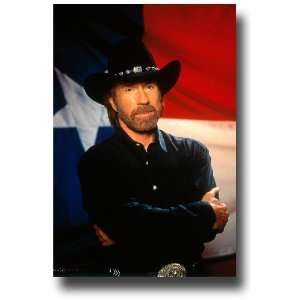 Walker, Texas Ranger Poster   TV Show Flyer 11 X 17   Pic