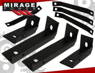 DODGE RAM 1500 2500 3500 QUAD CAB SIDE STEP NERF BARS