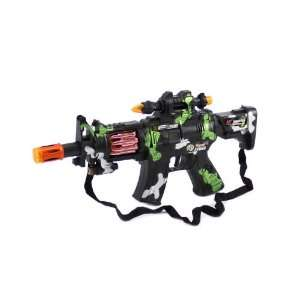 Power New Sound Gun Toy Gun CAMO Color for kids, with lights, sounds