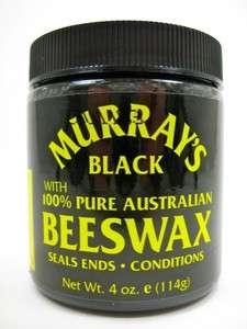 Australian Beeswax Natural Hair Pomade Bees Wax Murrays 4 oz