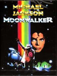 Michael Jackson Moonwalker  DVD  NEW