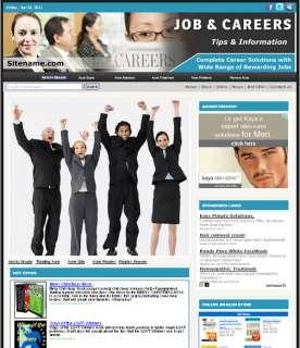 Turnkey Money Making Job / Career Affiliate Site Sale