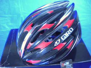 NEW 2011 GIRO AEON CYCLING BIKE HELMET RED BLACK LARGE