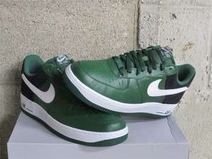 Nike Air Force 1 One Low Gorge Green White Black DS Sz 11.5 new 488298