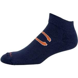 Chicago Bears Navy Blue Jacquard Logo Ankle Socks