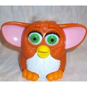 Happy Meal Furby Baby, 5 Orange Pink and White Doll Toy: Toys & Games
