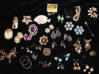 Beautiful Lot *High Quality* Vintage Costume Jewelry Star Art Bastin
