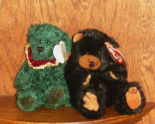 Attic Treasures Retired Ty Laurel Ivan Teddy Bear