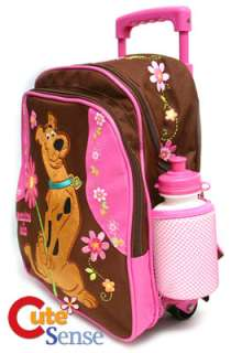 Scooby Doo School Roller Backpack Luggage Bag 10 PINK